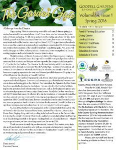 Spring 2016 Newsletter Page 1